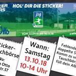 Sticker-Tauschbörse